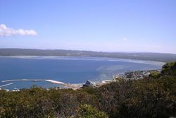 Overlooking Albany from ANZAC Memorial Lookout