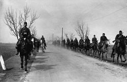 Mounted Troops...