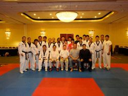 Master Felix at a Referee clinic Aug 2011