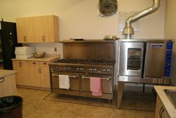 Kitchen Gas Stove and Convection oven