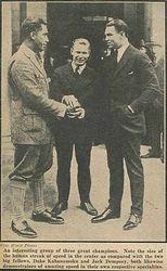 Meeting Jack Dempsey & Duke Kahanamoku