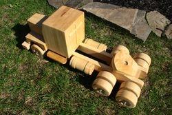 Logging Truck Tractor