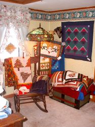 Many ways to show off your quilts