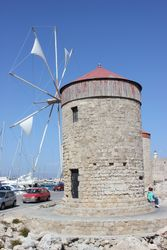 Windmill on the port