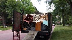 Truck loaded full
