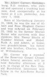 Garner, Albert R. 1959