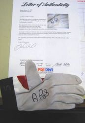 Albert Pujols 2002 Game Used -Worn Autographed Batting Glove