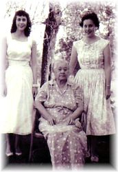 Amanda Jane Hudson (Bohanon) with Grand-Daughters