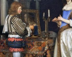 Ter Borch, Woman at Her Dressing Table,