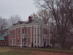 Tunnellton Mansion.