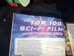 Opening Banner of The Top 100 Sci-Fi Films of All Time (and Space) in Starburst Magazine #473: The Top 100 Sci-Fi Films of All Time (and Space) Collectors? Edition