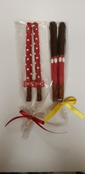 Minnie and Mickey Mouse Pretzel Rods