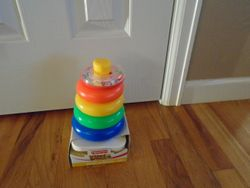Fisher Price Brilliant Basics Rock-a-Stack BNIB - $6