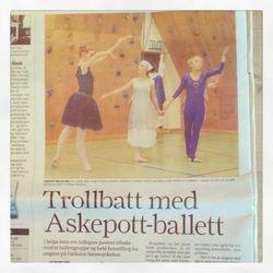 Trollbatt med Askepott-ballett