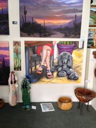 Happy Hour at Feminine Mystique Elite Gallery in Tubac