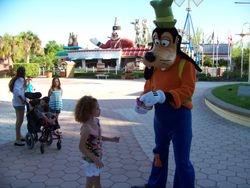 Haley meeting Goofy