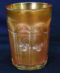 Cherry and Cable tumbler, marigold