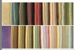 Faux Silk Satin Blackout Curtains Swatch