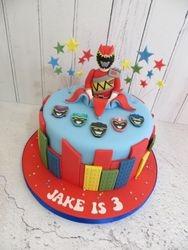Jake's 3rd Birthday Cake