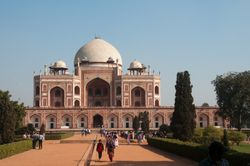 Mughal Emperor Humayun's Tomb, Delhi