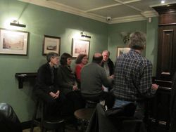 An evening at the Confession Box pub