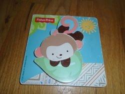 Fisher Price My Little SnugaMonkey Wood Puzzle - $2