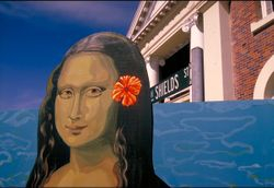 Mona Lisa visits cairns.