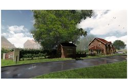 Artist Impression of Plot 1 - The Sidings