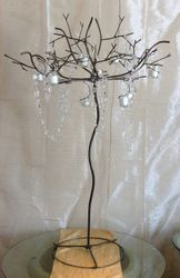 Metal Tree Votive Holder