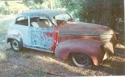 1939 Two Door Sedan