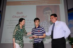 SINGHEALTH INSPIRATIONAL PATIENT AWARD 2011 CEREMONY