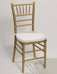 Gold and Silver Chiavari Chair @ $5.95 ea