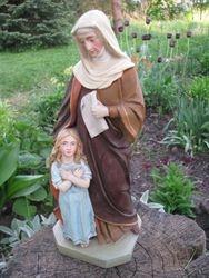 Sv. Ona su Marija. Kaina 91 Eur.