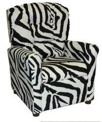#400 Child Recliner  - Zebra