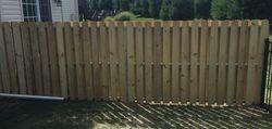 Dog Ear Wood Fence