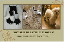 Breathable Traction Socks