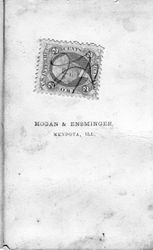 Hogan & Ensminger, photographers of Mendota, IL - back