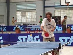 San Ignacio player Jamil Bedran