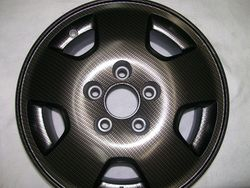 Wheel Processed in Carbon Fiber