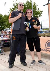 Manager of the Year Rebecca Macken