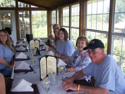 Lunch at The Vineyard Restaurant