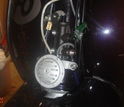 Hidden mastercylinder hose on Ped Elliots G.P.