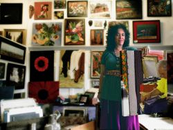 Deborah, gallery owner