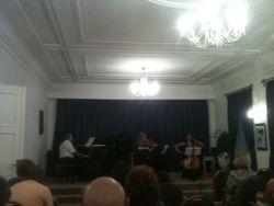 Huis van Chopin Andre Telderman, Svetlana Phlipenko, Dionne Nijsten