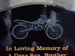 Sand blast design of motor cross bike