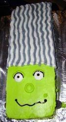 Halloween Mrs.Frankenstein cake