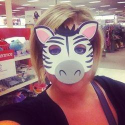 I'm a zebra :)