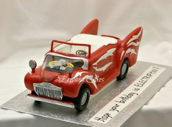 GREASE Car cake