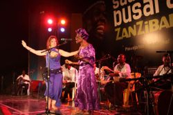 Busara Festival with Bi Kidude and the Ikhwan Safaa Orchestra