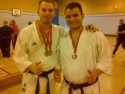 Ash and Richy medals